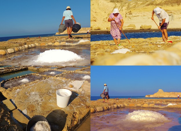 Harvesting sea salt is a centuries-old Gozitan tradition