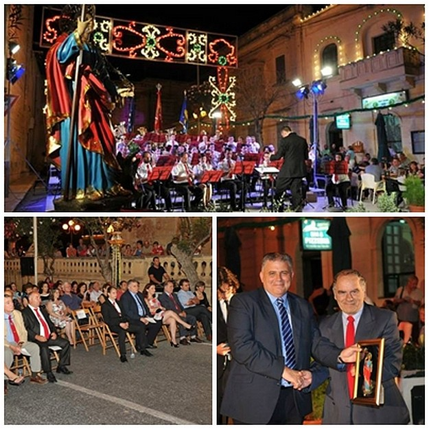 Concert held for the 325th anniversary of Ta' Sannat Parish