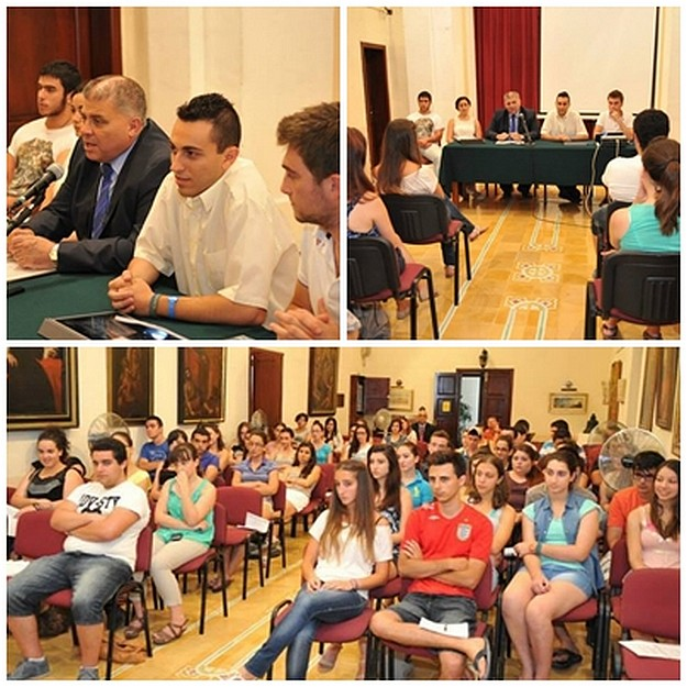 GUG holds meeting for new students at Ministry for Gozo