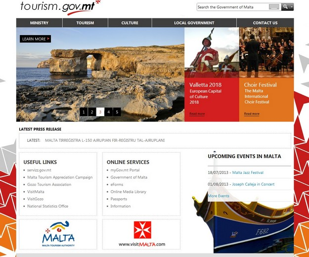 Ministry for Tourism launches its new website for the sector
