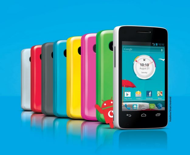 "Vodafone Smart Android launched at ""affordable prices"""