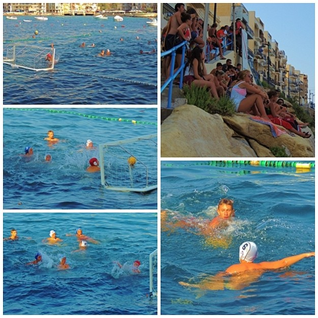 Spectator events in Marsalforn with water polo at Otters