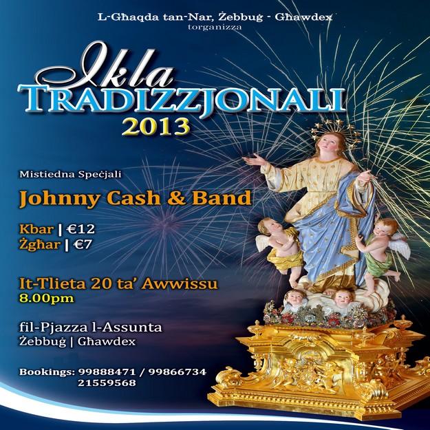 'Ikla Tradizzjonali tal-Festa' taking place in Zebbug, Gozo