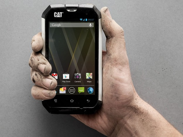 Now available at GO –  The CAT B15 Android smartphone