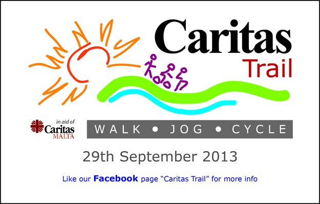 Sign up for Caritas Malta's fund-raising event at MaltaPost