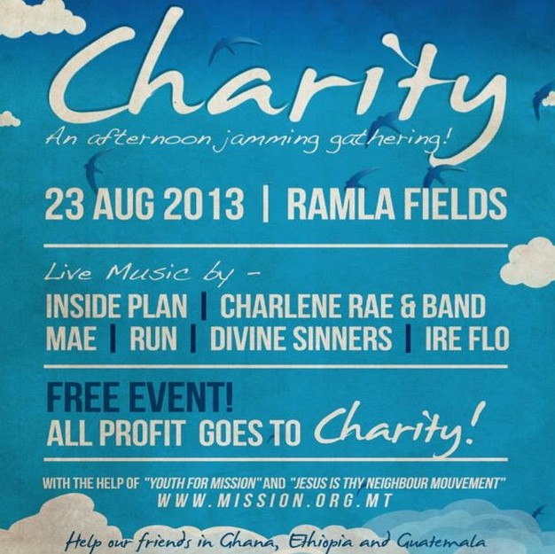 CHARITY fund raising event for all the family at Ramla fields