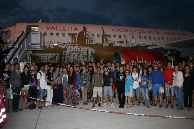 Air Malta flies members of European Union Youth Orchestra