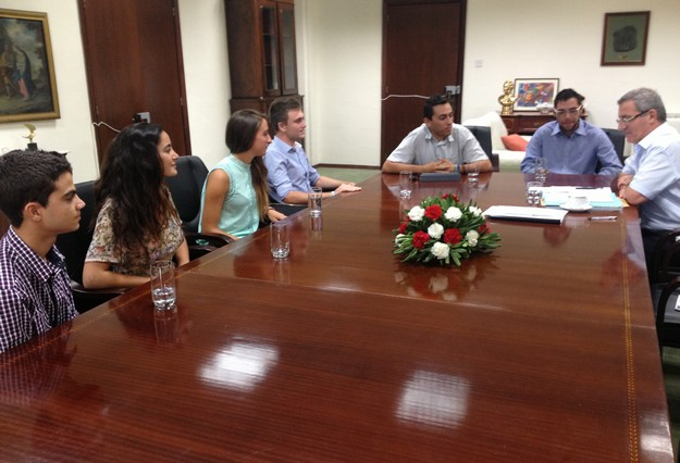 GUG, MCAST and ITS meet with the Minister for Education