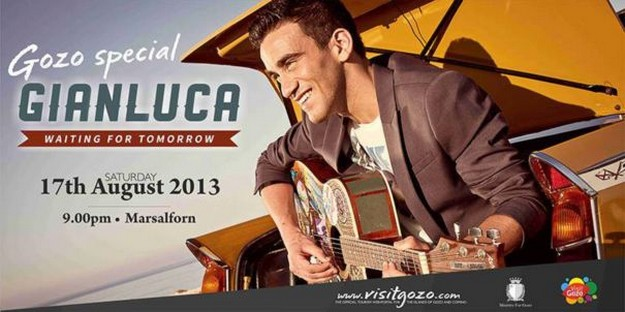 Gozo Special concert with Gianluca - 'Waiting for Tomorrow'