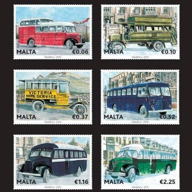 MaltaPost continues series 'Malta Buses - The End of an Era'
