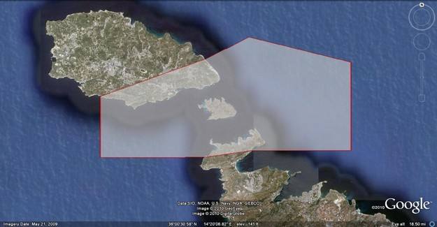 Gozo Channel - Malta's first Marine Important Bird Area