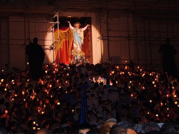 The Feast of Santa Marija comes to a close in Victoria