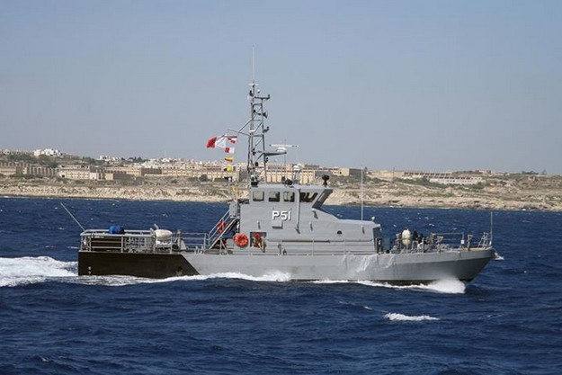 AFM rescue 84 migrants drifting in dinghy in rough seas
