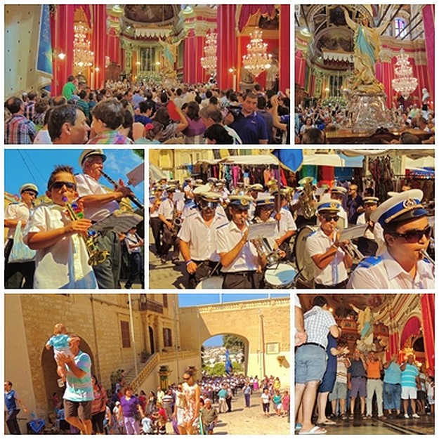 Celebrations for the Feast of Santa Marija start in Victoria