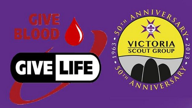 Victoria Scout Group Blood Donation Event next Sunday