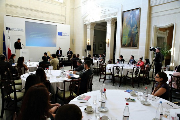 Gozo based Young Business Entrepreneurs in EU competition