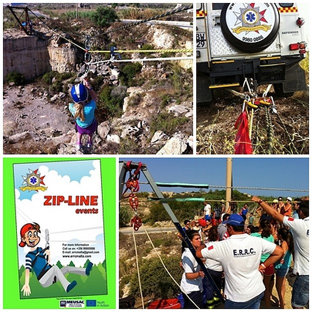 'Abseiling for all' rope related activities organised by ERRC