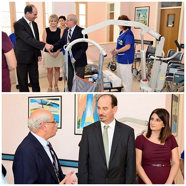 Minister praises NGO's support at the Gozo General Hospital