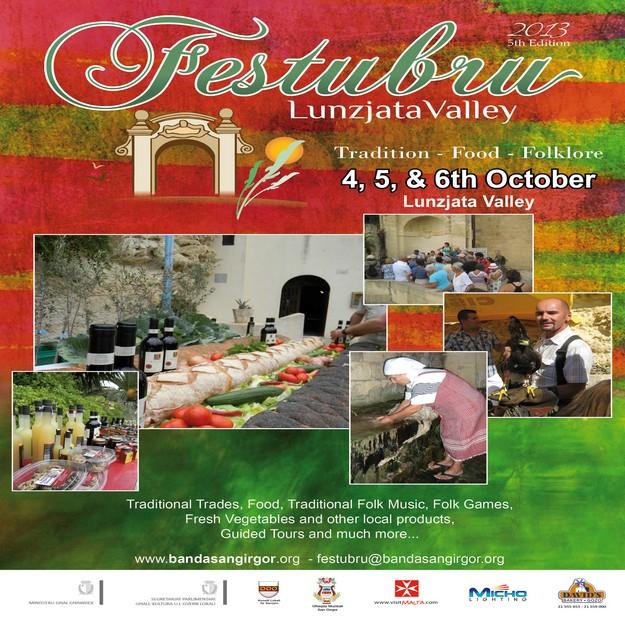 Festubru 2013 - Tradition, food & folklore at Lunzjata Valley