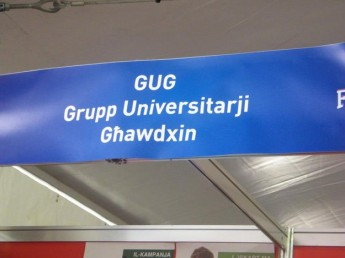 GUG stand for Gozitan students during Fresher's Week