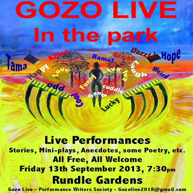 Gozo Live Performance Writers Society at the Villa Rundle