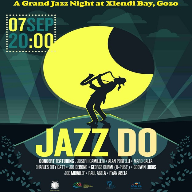 'Jazz Do' - Xlendi Bay grand Jazz Concert this Saturday