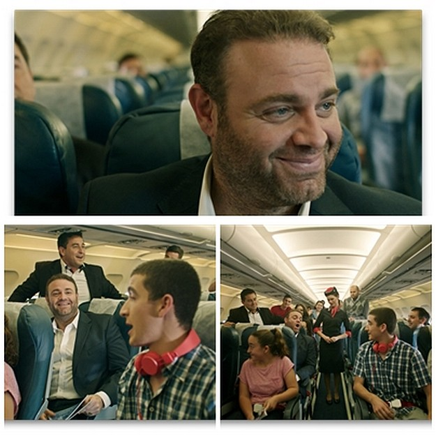 Maltese tenor Joseph Calleja sings on Air Malta flight