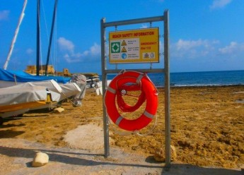Life buoys and information boards installed around Gozo