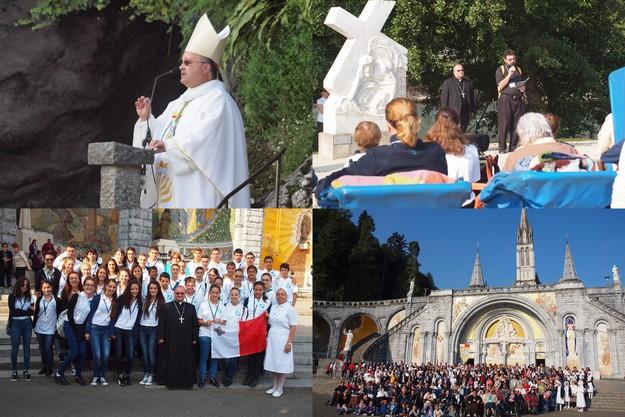 Mgr Charles J. Scicluna celebrates Mass at Lourdes