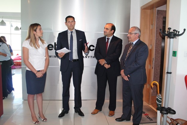 MEP Metsola visits online gaming company Betsson Malta