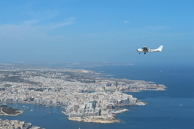 Malta Wings offering sightseeing flights during the airshow