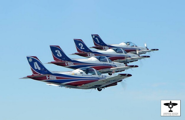 Italian aerobatic team 'Pioneer Team' joining Malta Airshow
