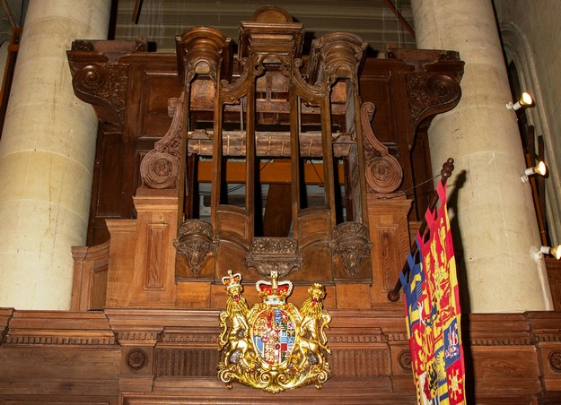 St Pauls Pro-Cathedral 17th century pipe organ restoration