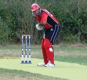Sharks & Panthers fight tooth & claw in friendly cricket game