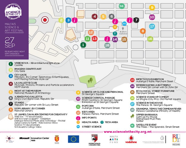 Science in the City second edition presents full programme