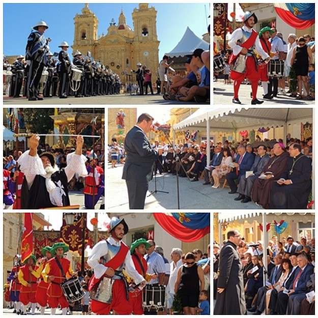 2 great sieges of Malta commemorated in Xaghra ceremony