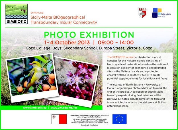 Photographic exhibiton marks the end of SIMBIOTIC project