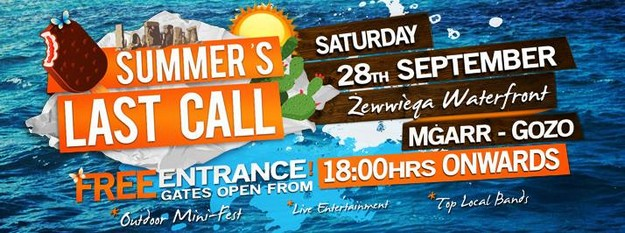 'Summer's Last Call' at Zewwieqa Waterfront - Mgarr Gozo
