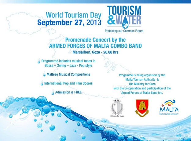 AFM Combo Band World Tourism Day Concert in Marsalforn