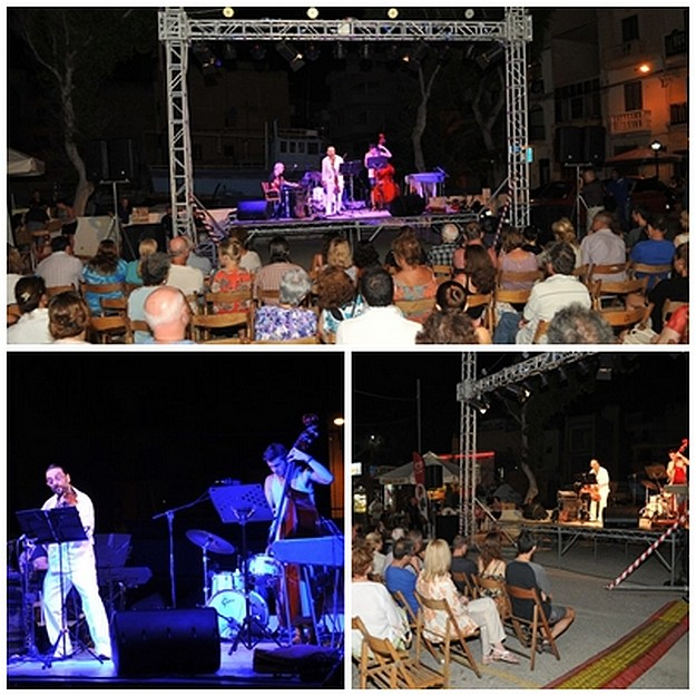 Gozo's Xlendi Bay comes alive with an evening of jazz music