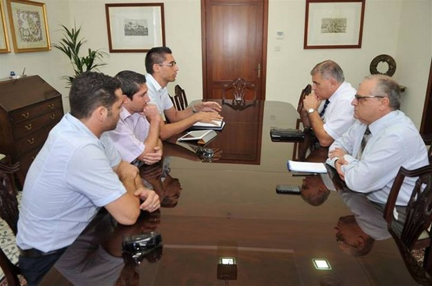 Members of Gozo based YBE meet with the Gozo Minister