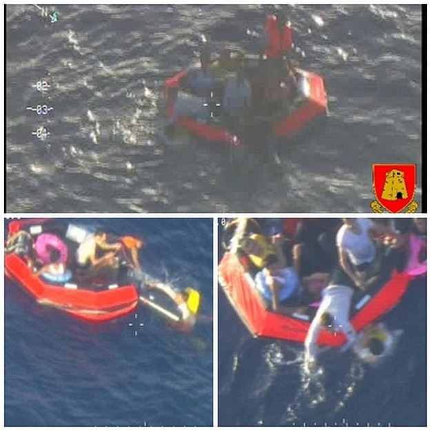 AFM's P61 has recovered 150 persons in search and rescue incident