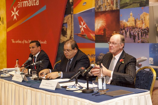 Air Malta says it continues on its steady path to financial recovery
