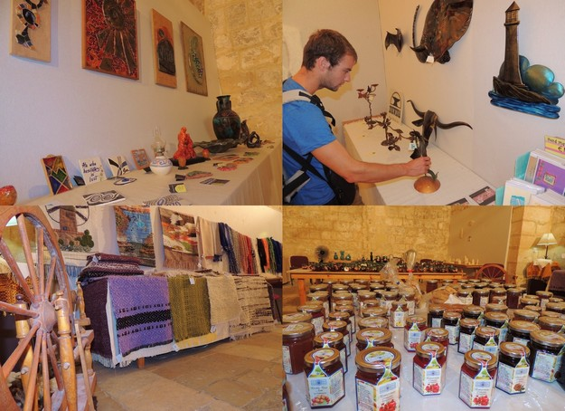 Last few days of exhibition on crafts and applied art at the Cittadella