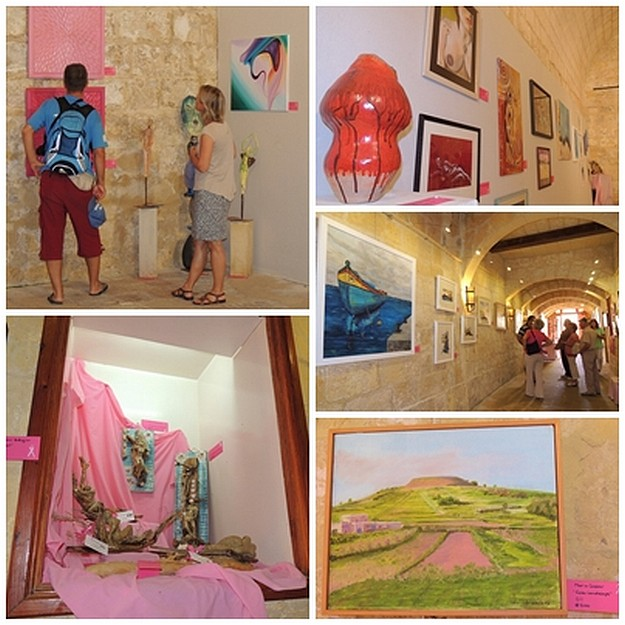 'Awareness Through Art' at the Cittadella Cultural Centre in Gozo