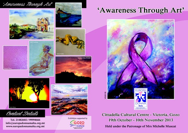 'Awareness Through Art' taking place at the Cittadella Cultural Centre