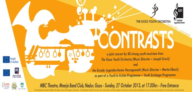 'Contrasts' a joint concert with young Gozitan and German musicians in Nadur
