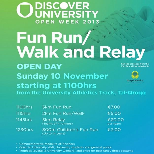 Discover University Fun Run/Walk and Relay