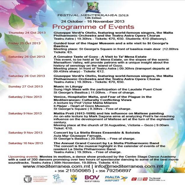 Teatu Astra and BOV launch 2th edition of Festival Mediterranea
