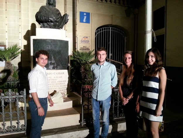 GUG participates in the Gozo Day 2013 commemoration ceremony